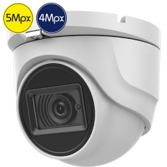 Telecamera dome HD SAFIRE - 5 e 4 Megapixel - Ultra Low Light - IR 30m