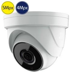 HD dome camera SAFIRE - 5 Megapixel - Motorized lens 2.7-13.5mm - IR 60m