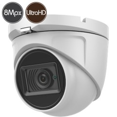 HD dome camera SAFIRE - 8 Megapixel Ultra HD 4K - IR 30m
