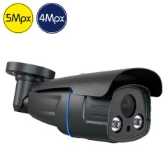 Telecamera HD - 5 e 4 Megapixel - SONY Ultra Low Light - motorizzata 2.7-13.5mm - IR 60m