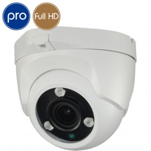 HD camera dome PRO - Full HD - SONY Ultra Low Light - motorized 2.7-13.5mm - IR 40m