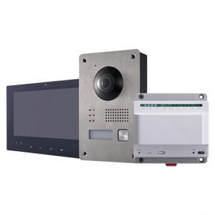 Kit di videocitofonia 2 fili a incasso