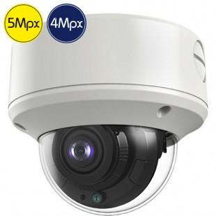 Telecamera dome HD SAFIRE - 5 e 4 Megapixel - Ultra Low Light - 2.7-13.5mm - IR 60m