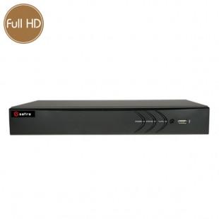 Hybrid HD Videorecorder SAFIRE - DVR 8 channels 2 Megapixel - HDMI
