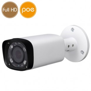Camera IP PoE - Full HD (1080p) - Varifocal 2.7-12mm - microSD - IR 60m