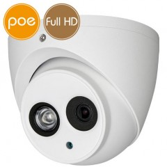 Telecamera dome IP PoE - Full HD (1080p) - IR 20m