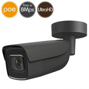 Camera IP SAFIRE PoE - 8 Megapixel Ultra HD 4K - Motorized 2.8-12mm - IR 50m
