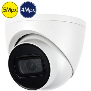 HD dome camera - 5 4 Megapixel - PIR - IR 20m