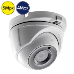 HD dome camera SAFIRE - 5 Megapixel - IR 20m