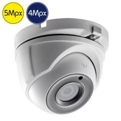 Telecamera dome HD SAFIRE - 5 e 4 Megapixel - IR 20m