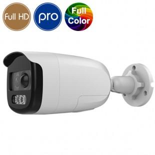 Telecamera HD SAFIRE  a colori di notte - Full HD - deterrente attivo - LED 40m
