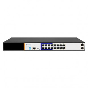 Switch 16 ports - 2 ports Gigabit SFP