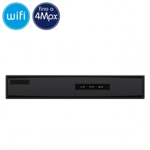 Videorecorder IP NVR WiFi Wireless SAFIRE 8 cameras - 4 Megapixel / Full HD