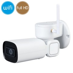 Telecamera IP WiFi PTZ - Full HD (1080p) - Ultra Low Light - Zoom 3X - IR 20m
