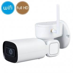 Camera IP WiFi PTZ - Full HD (1080p) - Ultra Low Light - Zoom 3X - IR 20m