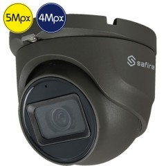 HD dome camera SAFIRE - 5 Megapixel - Mic - IR 30m