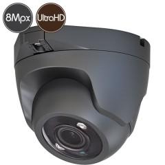 Telecamera HD dome - 8 Megapixel Ultra HD 4K - SONY Ultra Low Light - IR 30m