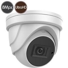 Telecamera dome HD SAFIRE - 8 Megapixel Ultra HD 4K - Ottica motorizzata 2.7-13.5mm - IR 60m