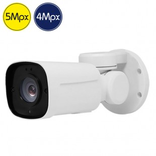 Telecamera HD PTZ PRO - 5 e 4 Megapixel - Ultra Low Light - Zoom 4x - IR 20m