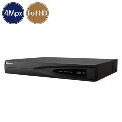 Hybrid HD Videorecorder SAFIRE - DVR 16 channels 4 Megapixel - Alarms HDMI Ultra HD 4K