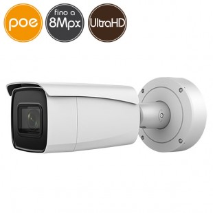 Camera IP SAFIRE PoE - 8 Megapixel Ultra HD 4K - Motorized 2.8-12mm - VCA - IR 50m