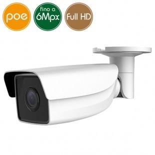 Camera IP SAFIRE PoE - 6 Megapixel - microSD - IR 50m