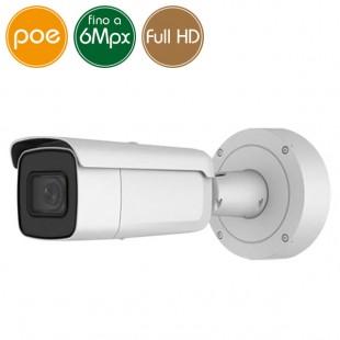Telecamera IP SAFIRE PoE - 6 Megapixel - motorizzata 2.8-12mm - IR 50m