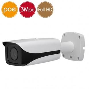 Telecamera IP PoE - 3 Megapixel / Full HD (1080p) - IR 30m