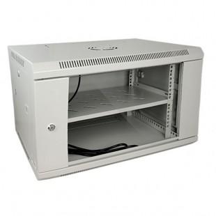 """Armadio Rack 6U Cabinet 19"""" completo grigio - Full optional"""