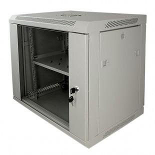 "Cabinet 19"" for Electronic Equipment Rack 9U grey - Full optional"