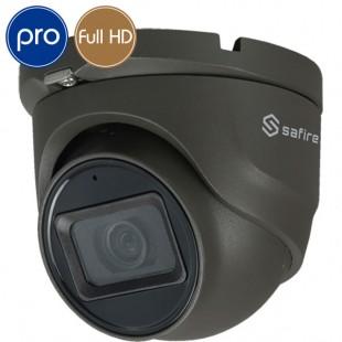 Telecamera dome HD SAFIRE - Full HD - 2 Megapixel - Microfono - IR 30m