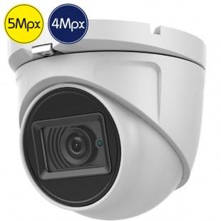 Telecamera dome HD SAFIRE - 5 e 4 Megapixel - Wide - IR 20m