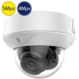 HD dome camera SAFIRE - 5 4 Megapixel - Motorized lens 2.7-13.5mm - IR 40m