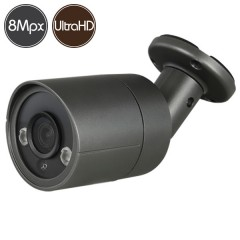 HD camera - 8 Megapixel Ultra HD 4K - SONY Ultra Low Light - IR 30m
