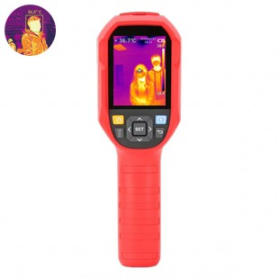 Portable thermographic camera Measurement of body temperature