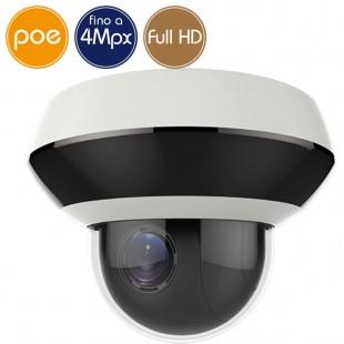 Camera IP SAFIRE PoE PTZ - 4 Megapixel / Full HD (1080p) - Zoom 4X - IR 20m