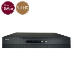 Videoregistratore IP NVR PoE SAFIRE 8 - 12 Megapixel / Full HD - ALLARMI RAID Ultra HD 4K
