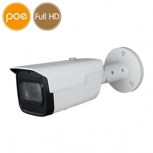 Telecamera IP PoE - Full HD - Ultra Low Light - motorizzata 2.7-13.5mm - IR 60m