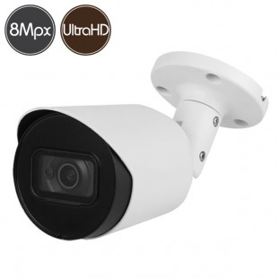 Telecamera HD - 8 Megapixel Ultra HD 4K - Microfono - IR 30m