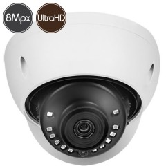 HD dome camera - 8 Megapixel Ultra HD 4K - IR 30m