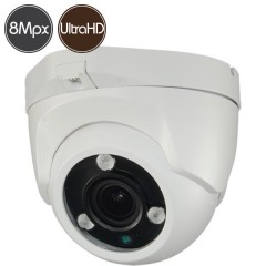 HD dome camera - Ultra HD 4K - SONY Ultra Low Light - motorized 3.3-12mm - IR 40m
