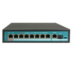 Switch 10 ports 1Gbps - 8 ports PoE