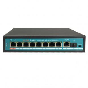 Switch 10 ports 1Gbps - 8 ports PoE