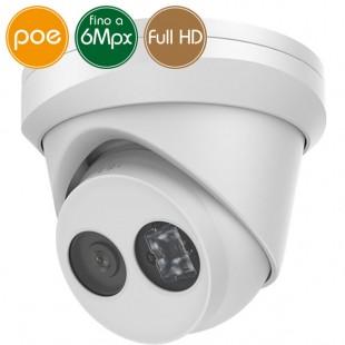 Telecamera dome IP SAFIRE PoE - 6 Megapixel - Microfono - IR 30m