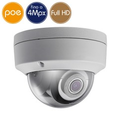 Telecamera dome IP SAFIRE PoE - 4 Megapixel - Ultra Low Light - Microfono - IR 30m