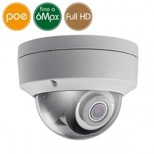 Telecamera dome IP SAFIRE PoE - 6 Megapixel - Ultra Low Light - Microfono - IR 30m