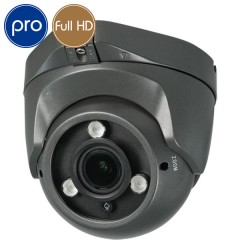Telecamera HD dome PRO - Full HD - SONY Ultra Low Light - Zoom 2.7-13.5mm - IR 40m