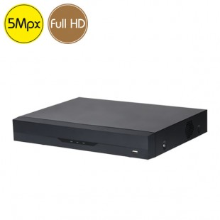 Hybrid HD Videorecorder 8 channels 5 Megapixel Facial vehicles people recognition
