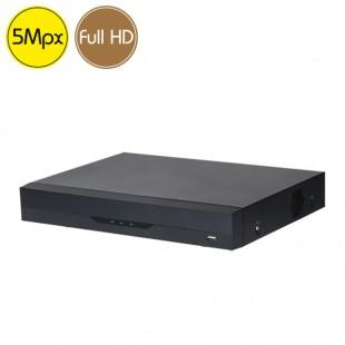 Videoregistratore HD ibrido 8 canali 5 Megapixel Riconoscimento facciale persone veicoli