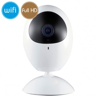 Telecamera wireless IP WiFi - 2 Megapixel / Full HD (1080p) - Microfono - IR 10m